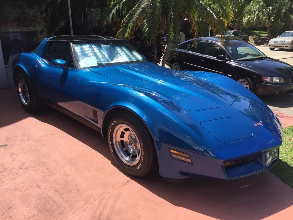 1981 Chevy Corvette Stingray | The Car Bar