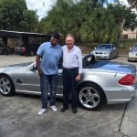 2003 Mercedes SL 500 - Johnny Wright