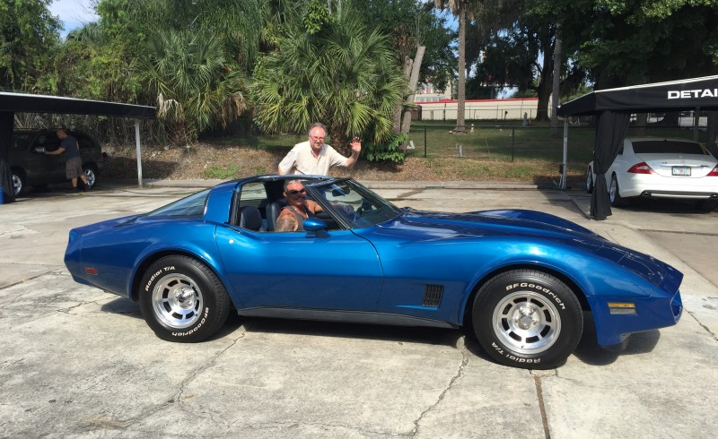 Happy Owner of the 1981 Corvette