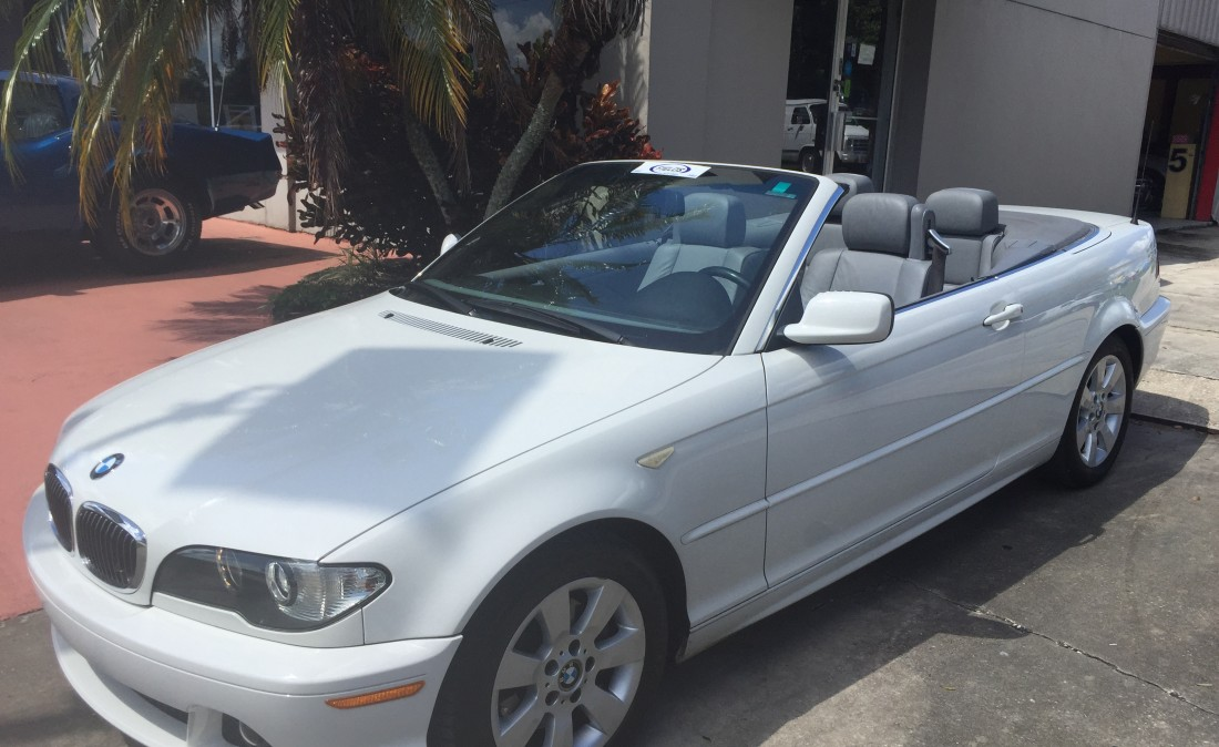 BMW Ci For Sale In Orlando Used BMW Mercedes For Sale - 2006 bmw 325ci convertible