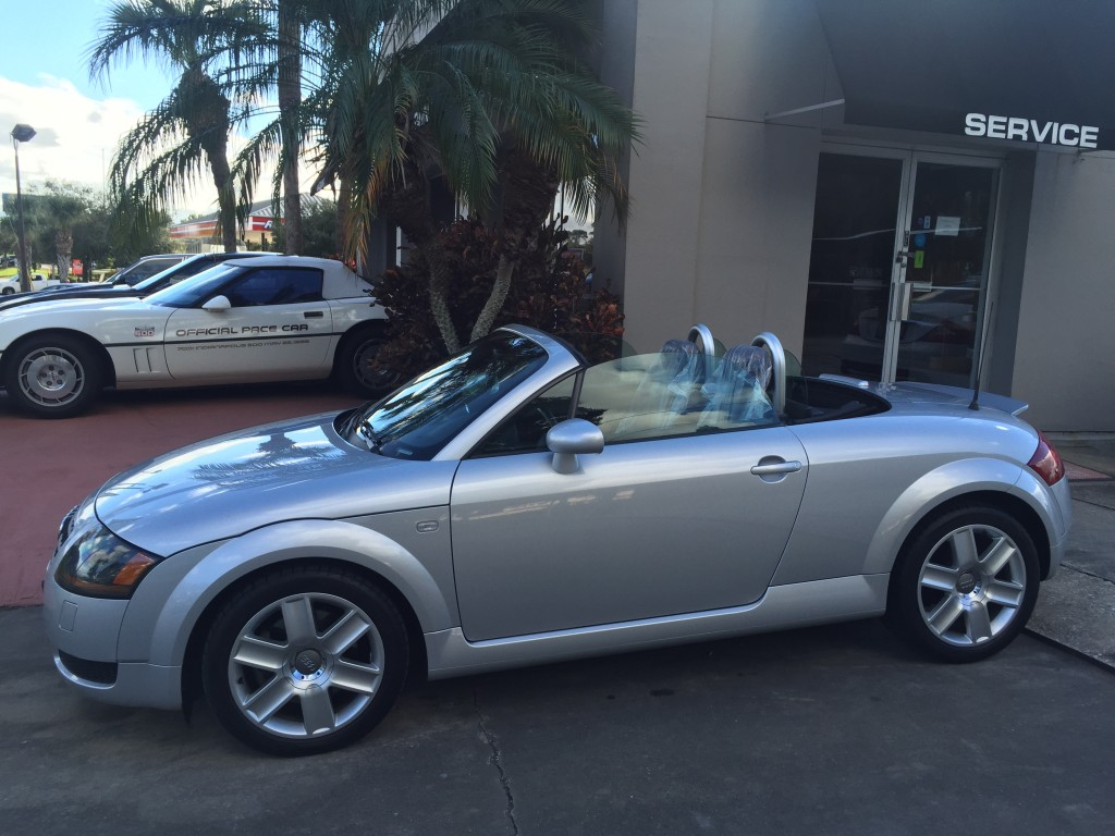 2001 Audi Tt 1 8t Roadster The Car Bar
