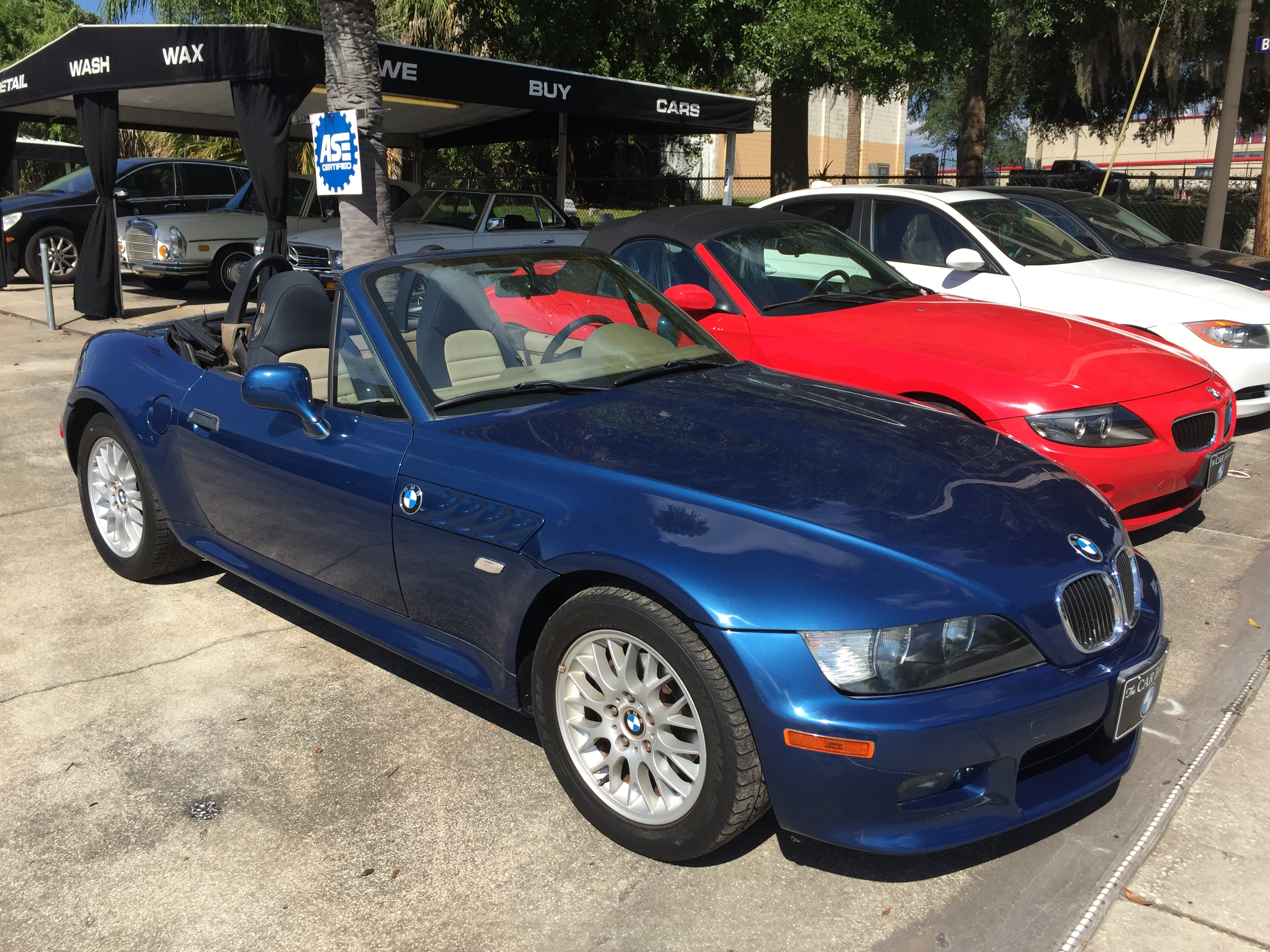 2000 Bmw Z3 The Car Bar